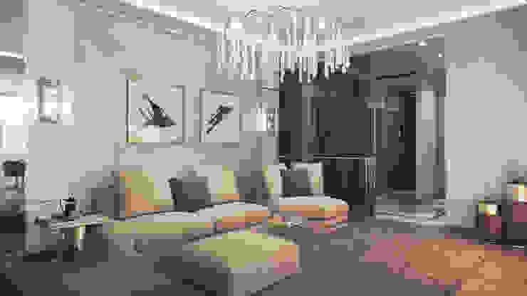 Klassische Wohnzimmer von GLAZOV design group концептуальная студия дизайна интерьеров Klassisch