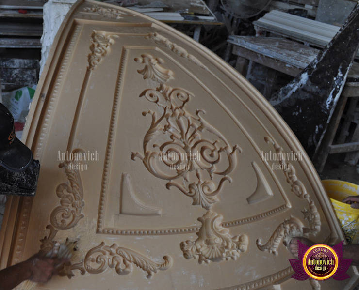 Dazzling Gypsum Work by Luxury Antonovich Design