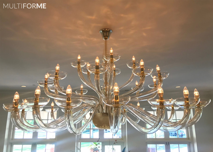 Multiforme Lighting at Denver Country Club 에클레틱 스타일 행사장 by MULTIFORME® lighting 에클레틱 (Eclectic) 유리