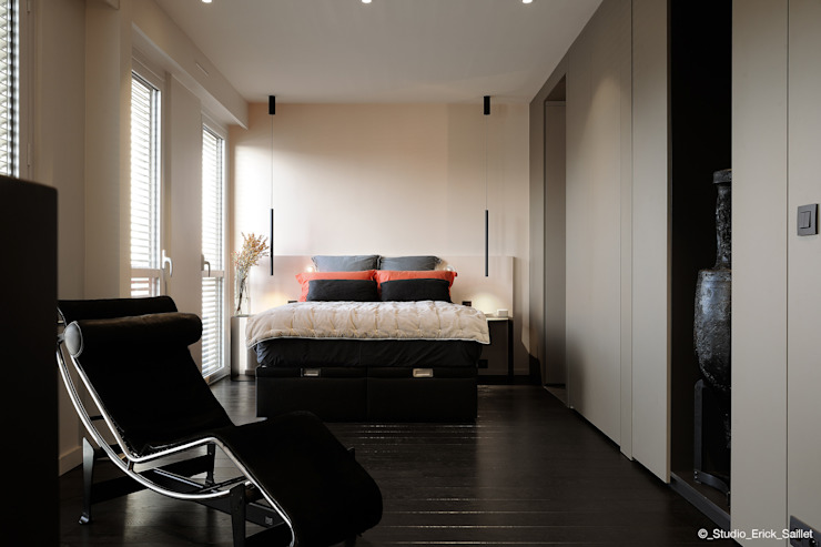 Franck VADOT Architecture Small bedroom