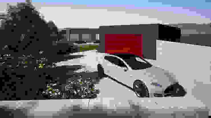 Franck VADOT Architecture Подвійний гараж