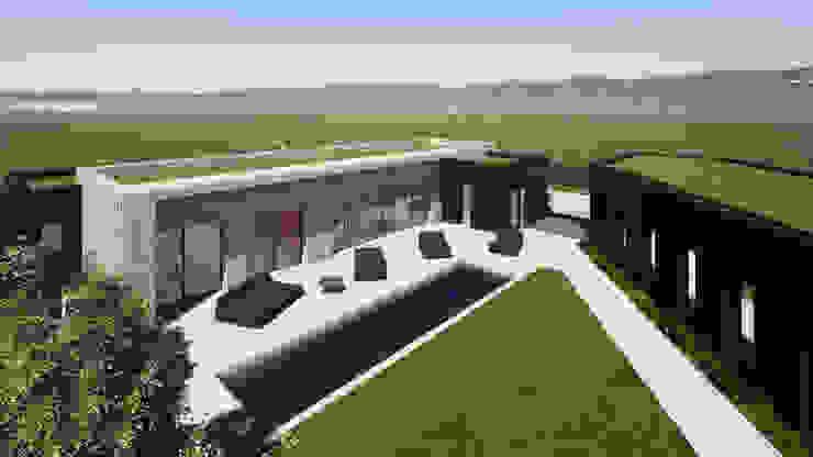 Franck VADOT Architecture Бунгало