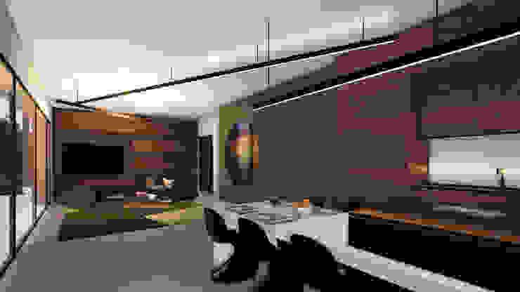 Franck VADOT Architecture Вітальня