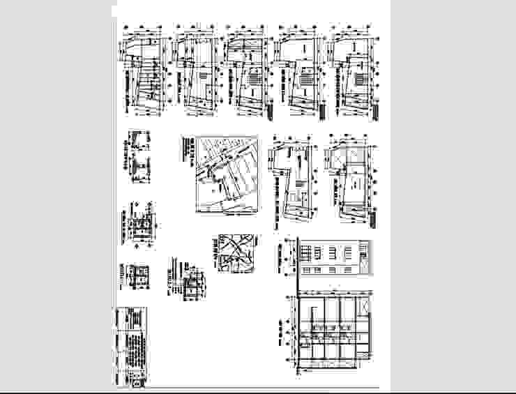 Mẫu bản vẽ xin phép xây dựng tại 419 Tổ 56 quận Bình Thạnh bởi Hoàn Thành Group