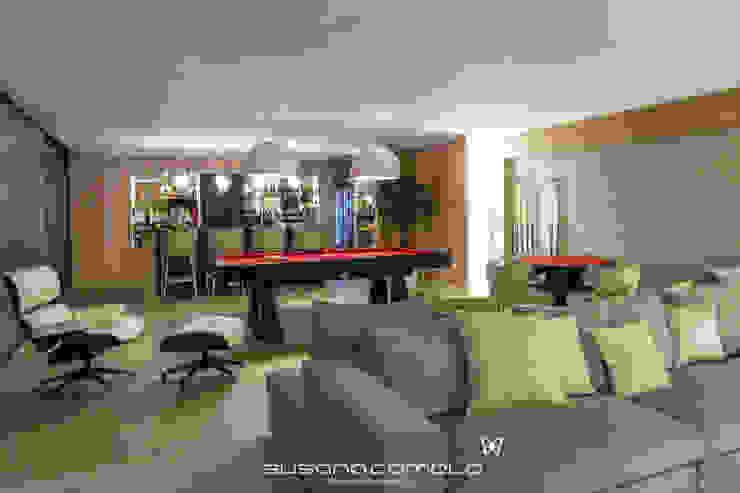 Susana Camelo Moderne Wohnzimmer Beige