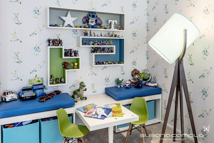 Susana Camelo Moderne Kinderzimmer Blau