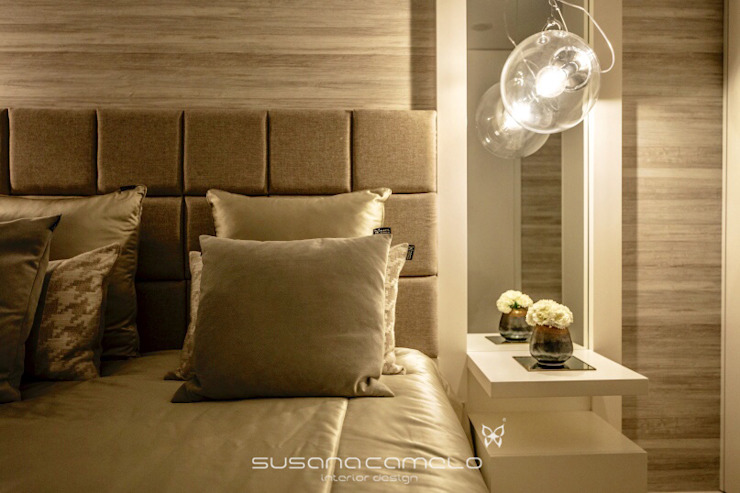 Susana Camelo Moderne Schlafzimmer Beige
