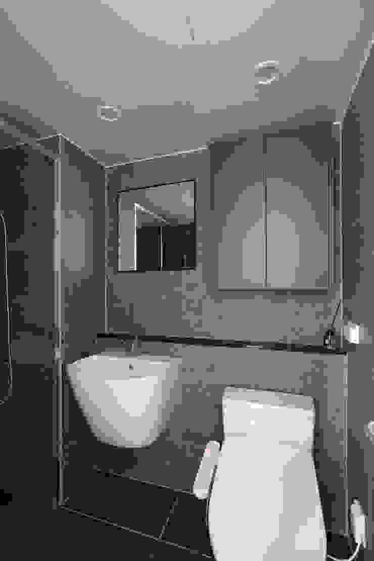 밤섬 예가 37평 모던스타일 욕실 by 카멜레온디자인 모던