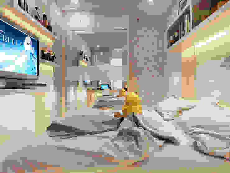 A/KIDS BEDROOM Oleh Mitrasasana - Design & Build Klasik Kayu Lapis