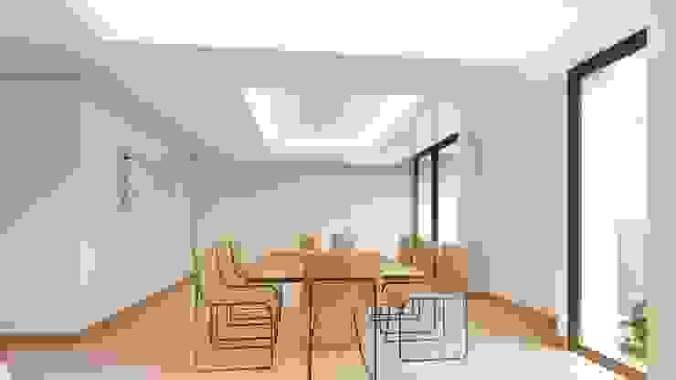 Modern dining room by GRUPO VOLTA Modern