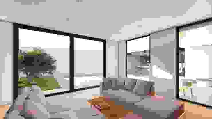 LIVINGROOM Salones de estilo moderno de GRUPO VOLTA Moderno