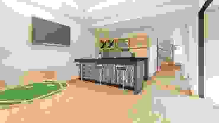 MINI BAR Salas multimedia de estilo moderno de GRUPO VOLTA Moderno