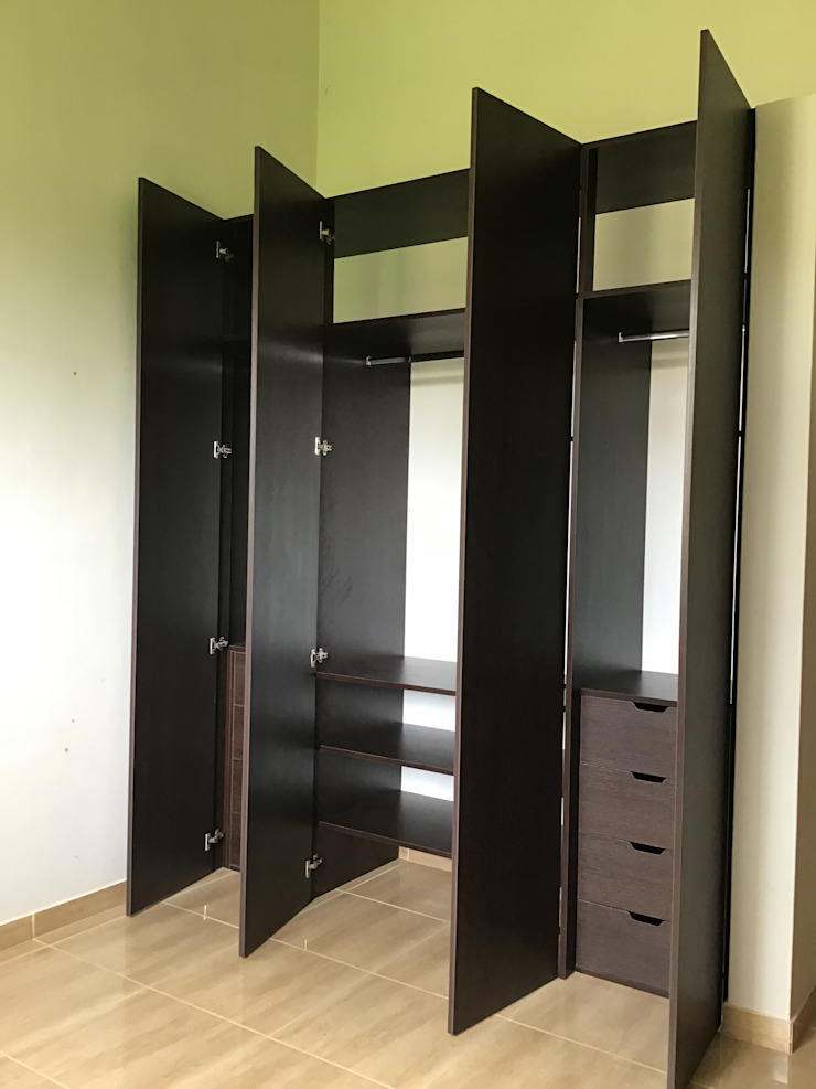 Closet Vestidores de estilo moderno de ARDI Arquitectura y servicios Moderno Aglomerado