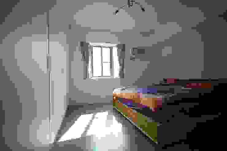 輕工業風活潑住家設計 大觀創境空間設計事務所 臥室