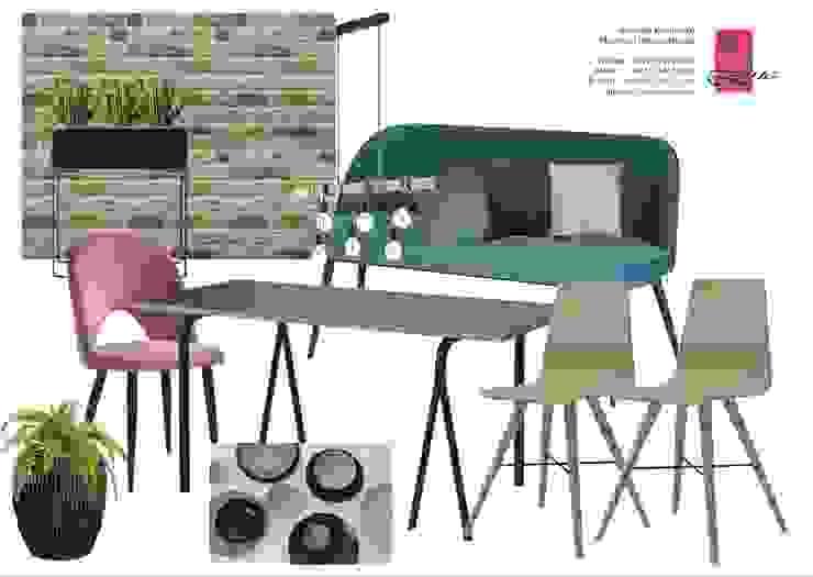 Scandinavian style dining room by NK-Line Scandinavian