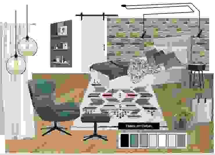 Scandinavian style bedroom by NK-Line Scandinavian