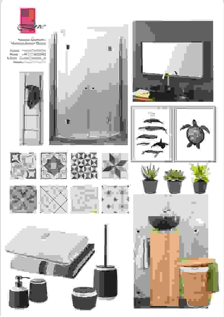 Scandinavian style bathroom by NK-Line Scandinavian