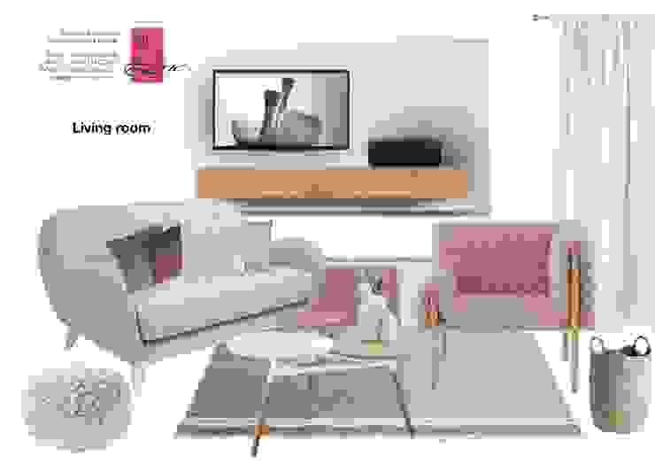 Wohnzimmer / Homestyling NK-Line Skandinavische Wohnzimmer