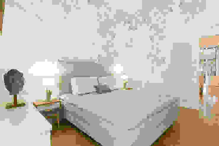 Fabio Carria 和風の 寝室 木 多色