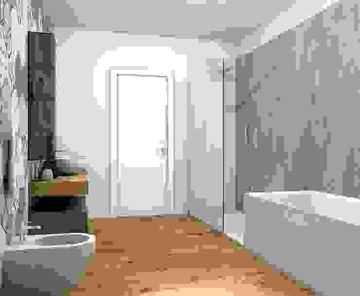 Baños modernos de Fratelli Pellizzari spa Moderno Azulejos
