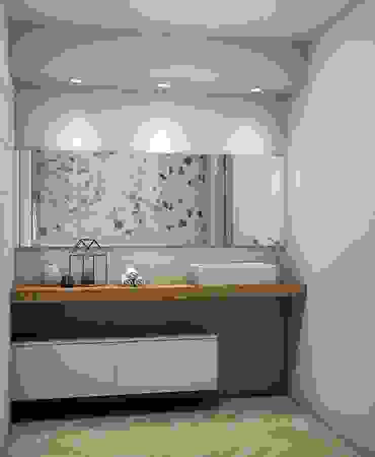 Modern style bathrooms by Fratelli Pellizzari spa Modern Wood Wood effect