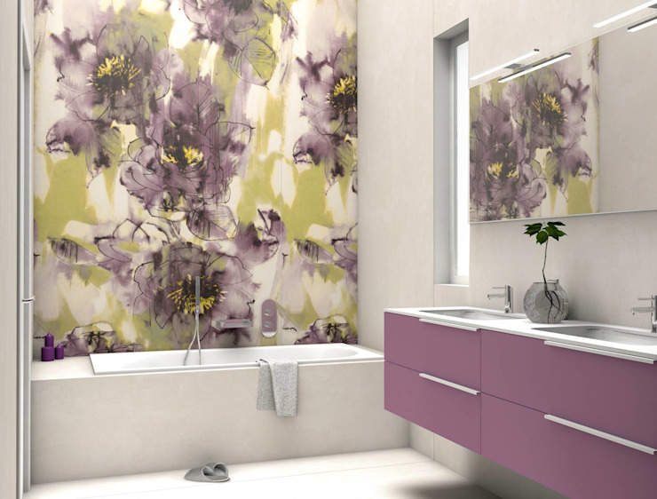 Eclectic style bathroom by Fratelli Pellizzari spa Eclectic