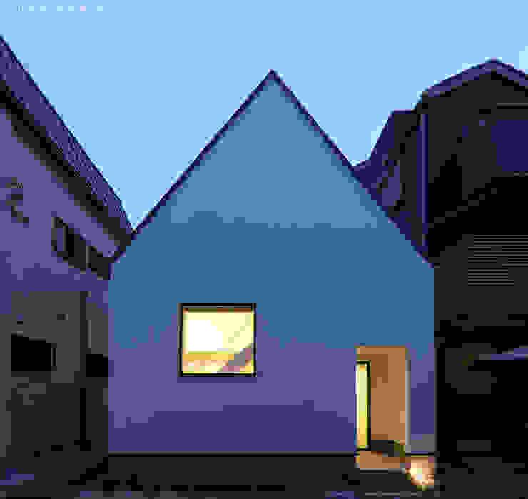三角屋根の外観 の 石川淳建築設計事務所 ミニマル