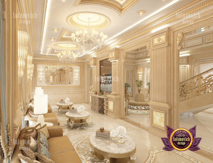 Imperial Villa Design by Luxury Antonovich Design