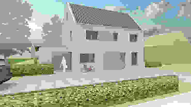 moderne nieuwbouw woning Dongen van koenen ontwerp + bouwzaken Modern