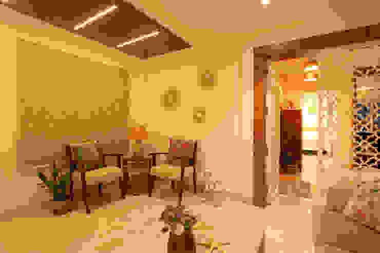 Drawing Room Saloni Narayankar Interiors Living roomAccessories & decoration