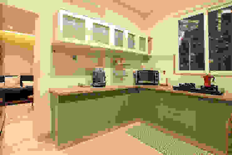 Kitchen Saloni Narayankar Interiors Small kitchens