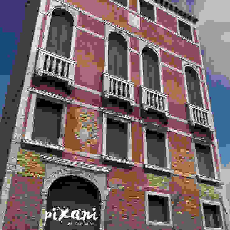 PIXANI STUDIOS บ้านสำหรับครอบครัว อิฐหรือดินเผา