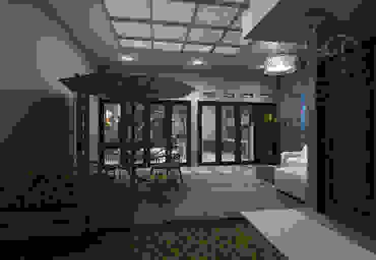 area semi outdoor Kantor & Toko Modern Oleh Maxx Details Modern