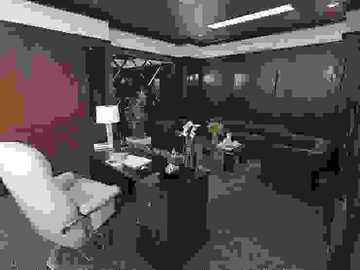 Ruang kantor 1.1 Kantor & Toko Modern Oleh Maxx Details Modern