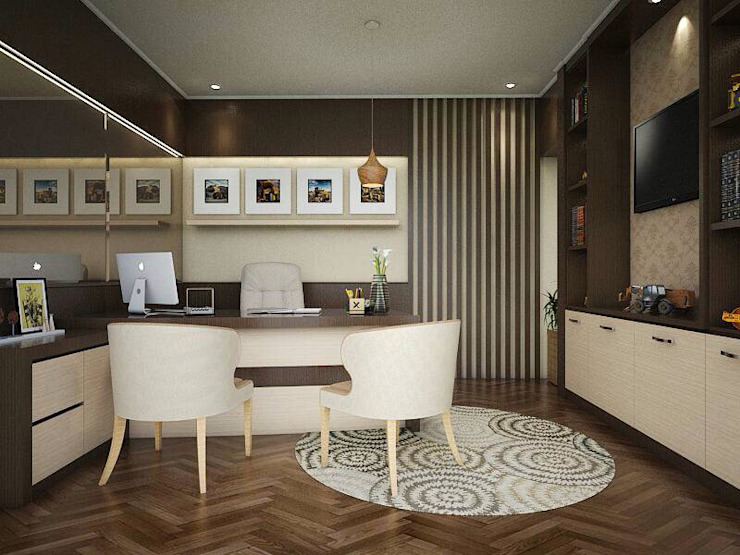 Ruang kantor 3.3 Kantor & Toko Modern Oleh Maxx Details Modern