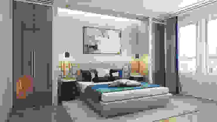 Klassische Schlafzimmer von GLAZOV design group концептуальная студия дизайна интерьеров Klassisch