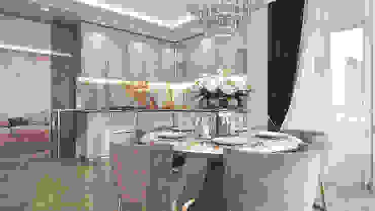Klassische Esszimmer von GLAZOV design group концептуальная студия дизайна интерьеров Klassisch