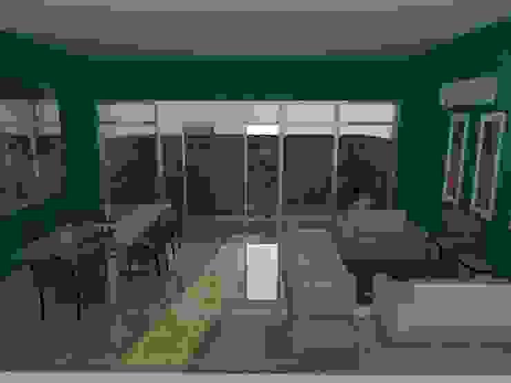 Ruang Makan dan Ruang Keluarga Oleh Designer Banten