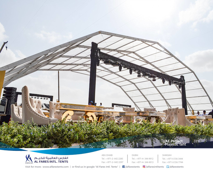 Tents, Event marquees, Temporary structures | Al Fares International Tents, Dubai, Abu Dhabi, Sharjah, Riyadh by AL FARES INTERNATIONAL TENTS Asian