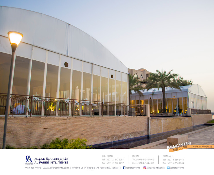 Tents, Event marquees, Temporary structures | Al Fares International Tents, Dubai, Abu Dhabi, Sharjah, Riyadh by AL FARES INTERNATIONAL TENTS Modern