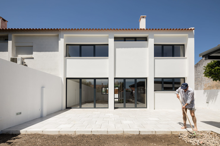 Boost Studio Maisons modernes Béton Blanc