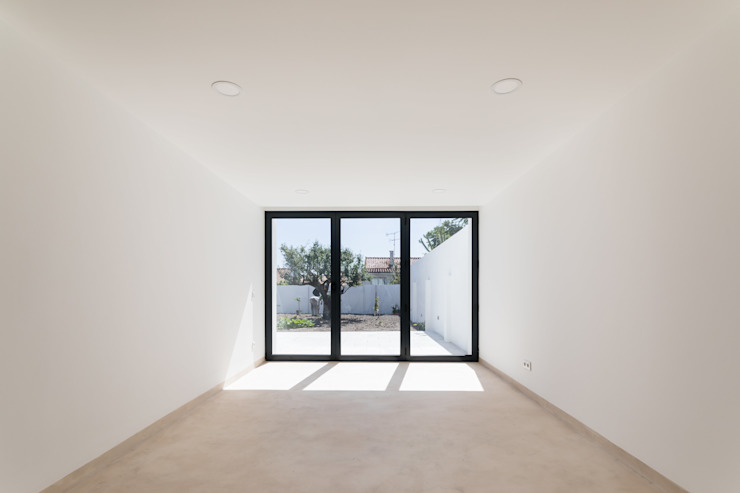 Modern living room by Boost Studio Modern Concrete