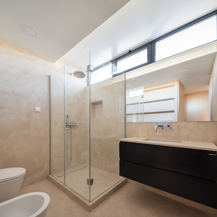 Modern bathroom by Boost Studio Modern Concrete