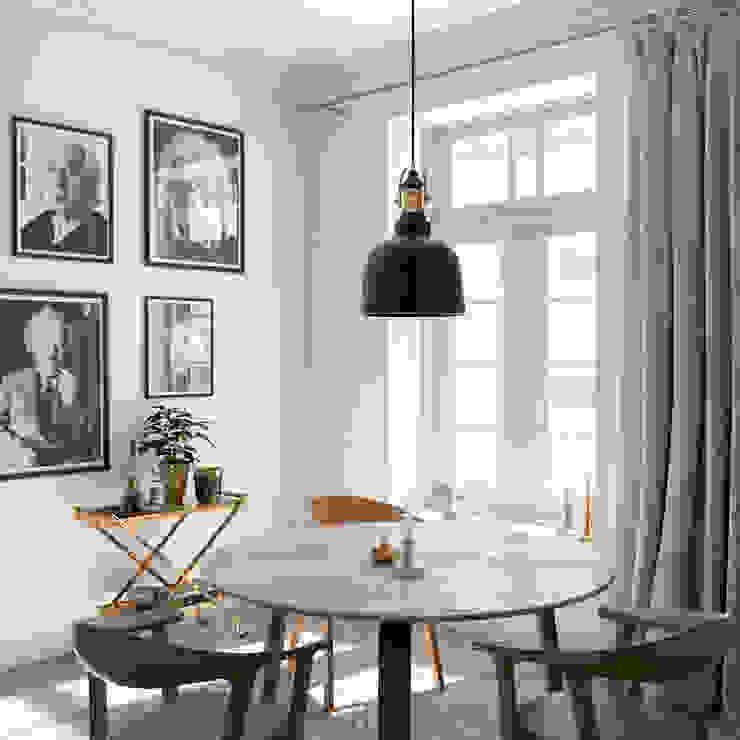 Dining Corner INTO Studio Salas de jantar minimalistas