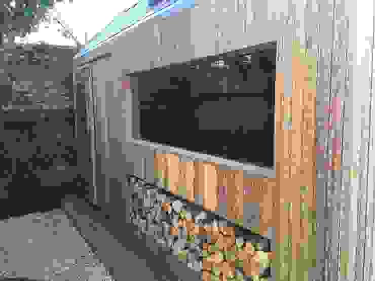 The Ungrateful shed Ruang Studi/Kantor Modern Oleh The Ungrateful shed company Modern Kayu Wood effect
