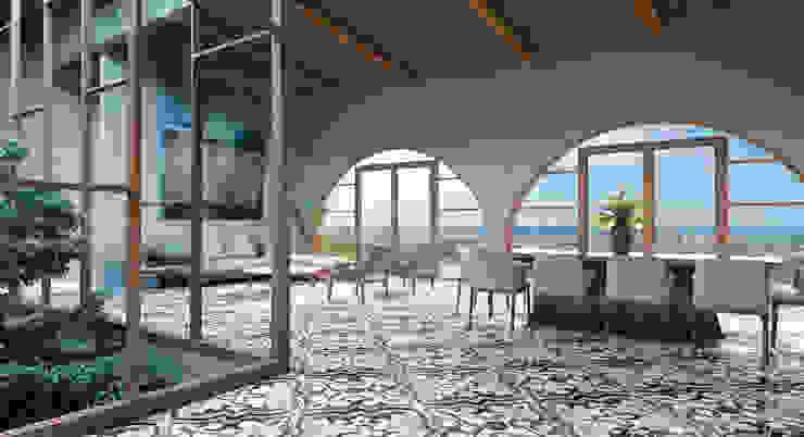Interior Salas modernas de HAC Arquitectura Moderno