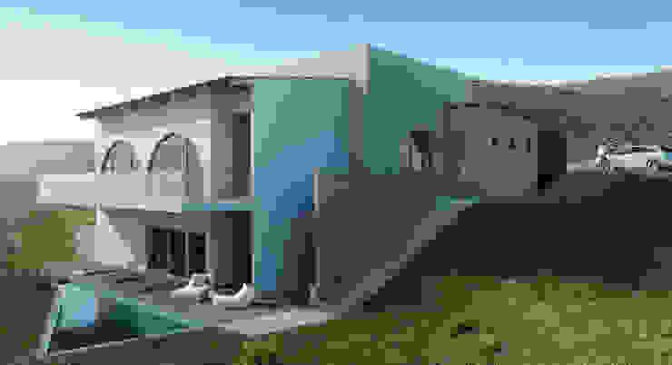 Facahada Casas modernas de HAC Arquitectura Moderno