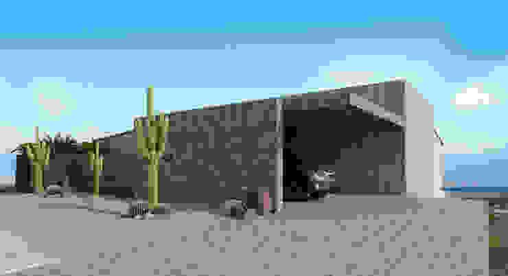 Fachada Casas modernas de HAC Arquitectura Moderno