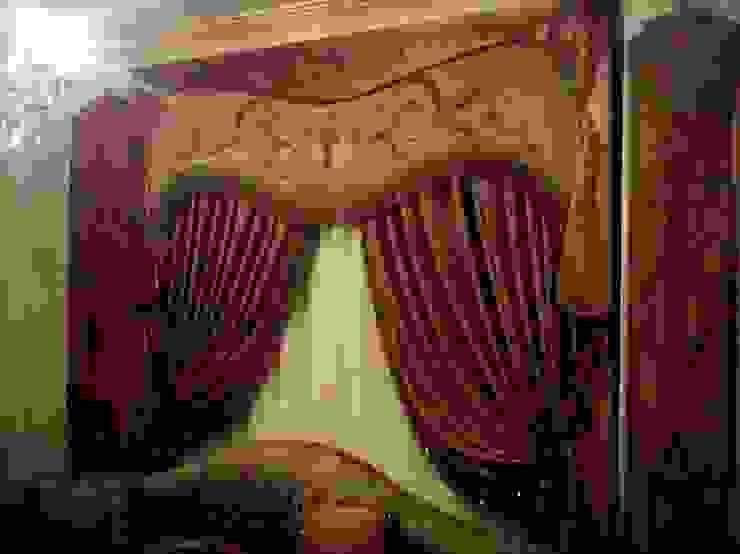 ستائر يدوي روزادا مصرية بلكونة أو شرفة Amber/Gold