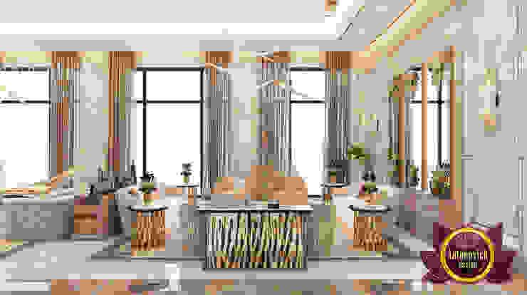 A Living Room of Luxury by Luxury Antonovich Design